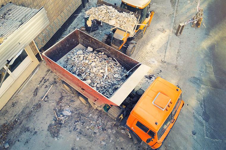 Schadstoffentfernung und Schadstoffentsorgung in München